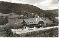 """Ansichtskarte Ehlenbogen - Alpirsbach """"Gasthof - Pension zum Adler"""" schwarz/weiß"""