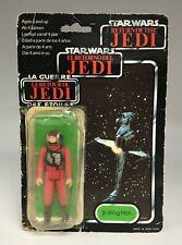 1983 Kenner STAR WARS ROTJ Rebel B-Wing Pilot Figure Partially Opened 70-Back