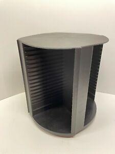 Laserline 80 CD Storage Holder Rotating Spinning Tower Carousel