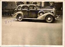"1936 Buick Special Four Door Trunk Sedan M41 1937 Street 7""x5"" Photo Photograph"