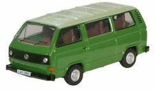 Oxford 76T25005 VW T25 Van Mini Bus Saima Green 1/76 Scale=00 Gauge New Case -T4