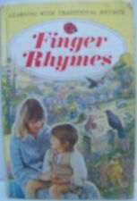 Ladybird Book. Learning With Traditional Rhymes. Finger Rhymes by Dorothy Taylor