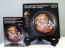 ROSENTHAL Aladin & The Wunderlampe Motiv VIII by Bjorn Wiinblad in Original Box