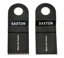 2 Blade Mix A for Worx Sonicrafter Hex Drive Multitool