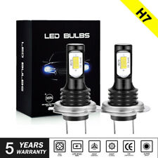 H7 CREE CSP 70W LED High Low Beam Headlight 6000K 8000LM Fog Light Bulbs DRL UK