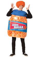 Brand New Cheeseballs Funny Adult Costume