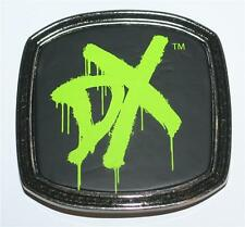 "WWE World Wrestling Entertainment DEGENERATION X DX Unisex BELT BUCKLE 3-5/8"""