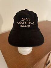Vintage Rare Original Dave Matthews Band 1994 Promo Hat Cap Snapback