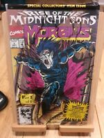 Morbius Rise of the Midnight Sons - Marvel Comic Book #1