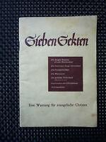 Sieben Sekten - Eine Warnung Für Evangelische Christen