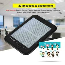 Portable E-paper E-ink 6 inch E-reader E-book Reader Paperwhite Black 8GB 256M