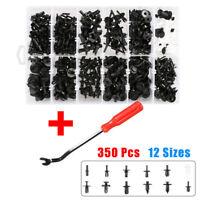 350Pcs Auto Body Niete Clip Sortiment Stift Pin Rivet Fasteners Trim Panel Tools