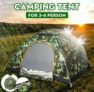 2-3 Person Family automatic Tent Portable outdoor Camping Hiking Beach Dome Tent