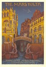 MINT/SIGNED Mars Volta 2008 EMEK Gorge Sasquatch Silkscreen Poster 37/150