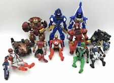 Hasbro & Power Rangers Multicolor Plastic Action Figure Lot
