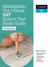 The Official SAT Subject Test in Chemistry Study Guide-The College Board