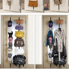 Hooks Over Door Strap Hanger Bag Hat Coat Hanging Organizer Clothes Holder
