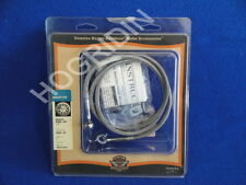 Harley stainless steel braided brake hose line softail fxstsb flsts 45255-04