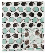 New Cute Hedgehog Plush Throw Gift Blanket SOFT Warm Pet Guinea Pig Reversible