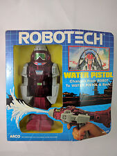 Arco Robotech WATER PISTOL Macross Rick Hunter Veritech Valkyrie Box