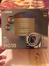 Canon HG10E 40 GB Camcorder