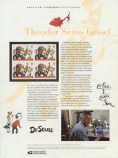 #703 37c Dr. Seuss #3835 USPS Commemorative Stamp Panel