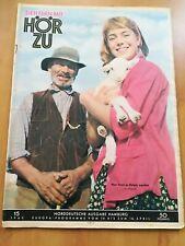 HÖR ZU  / HEFT Nr.15 / 1960  Zeitschrift / Illustrierte /Nostalgie