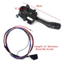 NEW Cruise Control Turn Signal Switch Stalk Fit VW Jetta Golf MK4 + Harness Kit