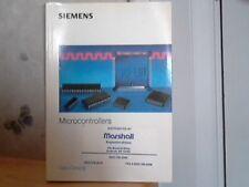 Vintage Siemens Microcontrollers Data Catalog Book 1992/93