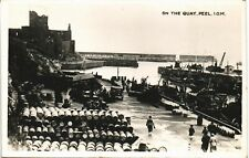 More details for peel, isle of man. on the quay in arrow series.