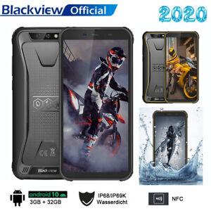 """Téléphone Incassable Blackview BV5500 Plus Android 10.0 5,5"""" 32Go Dual SIM NFC"""
