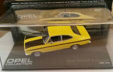 "DIE CAST "" OPEL KADETT B COUPE' 1965 - 1973 "" OPEL COLLECTION SCALA 1/43"