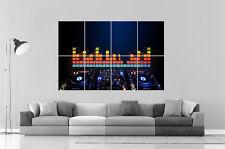 PIONEER DIGITAL MESA DE MEZCLAS DJ Wall Arte Cartel Grande formato A0 Largo