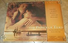 The Prince Of Tides movie poster - Barbra Streisand Poster, Nick Nolte, 30 x 40