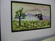 Death Valley Scotty Coyote Special Santa Fe  Artist Railroad Archives bt