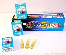 1 CASE OF GLASS STINKY STINK BOMBS 36 TOTAL - WHOLESALE