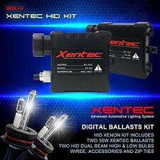 Xentec Halogen High + HID Xenon Lights Dual beam Kit H4 HB2 9003 10000K D Blue