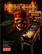 2006 STERN PIRATES OF THE CARIBBEAN PINBALL FLYER