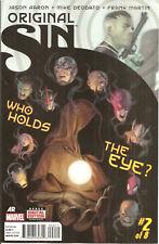 Original Sin #2 Marvel WATCHER IRON MAN AVENGERS CAPTAIN AMERICA