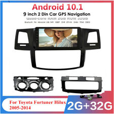 For 2005-2014 Toyota Hilux 9'' Android 10.1 Stereo Radio GPS Head Unit 2GB+32GB