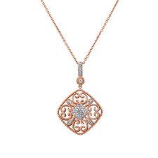 Unbranded Fine Diamond Necklaces and Pendants