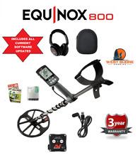 Minelab Equinox 800 Metal Detector  - Current software updates! - No old stock!