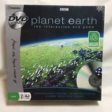 Planet Earth BBC DVD Family Game Nature Interactive Cooperative New Sealed