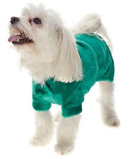 Soft & Cozy Holiday Pet Angel Wrap,  Green, Size SM