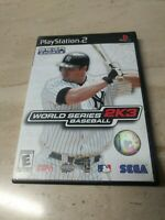 World Series Baseball 2K3 PlayStation 2 PS2
