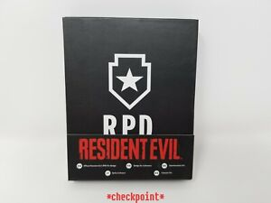 Resident Evil 2 Remake R.P.D. RPD Collector's Pin Badge Official Capcom Product