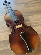Geige Violine Um 1900 Mit Koffer