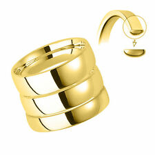 Echter Ringe im Band-Stil aus Gelbgold