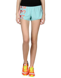 REEBOK Training Shorts Size M Coated Trim Mesh Inserts Elasticated Waist