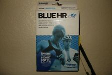 BLUE HR iPhone Heart Rate MONITOR + Bluetooth SMART - NEW